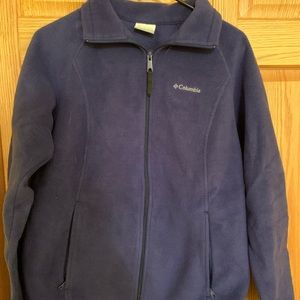 Columbia Zip Up Sweatshirt